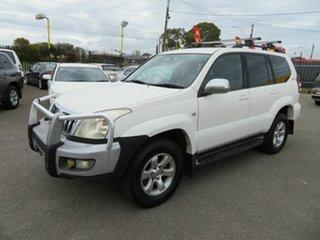 2007 Toyota Landcruiser Prado GRJ120R 07 Upgrade GXL (4x4) White 5 Speed Automatic Wagon