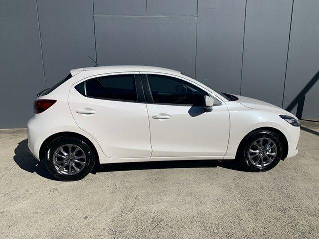 New Mazda 2 DJ2HAA G15 SKYACTIV-Drive Pure Alexandria, 2021 Mazda 2 DJ2HAA G15 SKYACTIV-Drive Pure Snowflake White 6 Speed Sports Automatic Hatchback