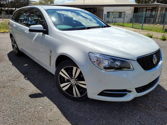 Used Holden Commodore VF II MY16 Evoke Sportwagon Elizabeth, 2016 Holden Commodore VF II MY16 Evoke Sportwagon White 6 Speed Sports Automatic Wagon