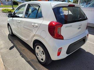 2021 Kia Picanto JA MY22 S White 4 Speed Automatic Hatchback.