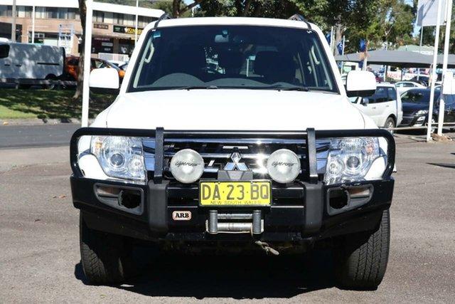 Used Mitsubishi Pajero NX MY15 GLX North Gosford, 2014 Mitsubishi Pajero NX MY15 GLX White 5 Speed Sports Automatic Wagon