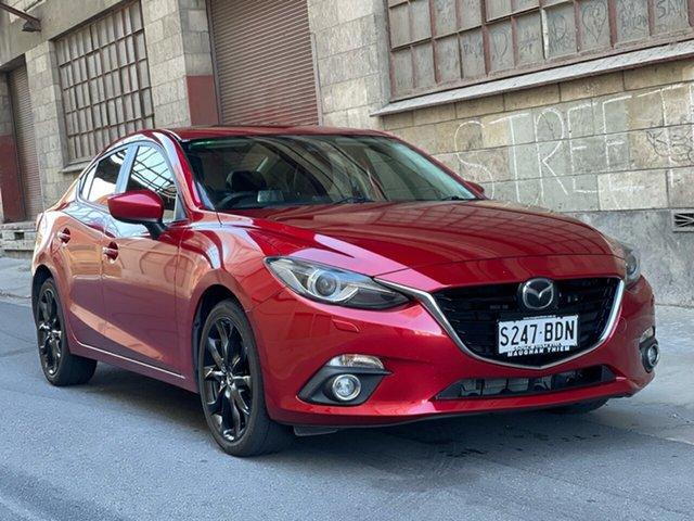 Used Mazda 3 BM5236 SP25 SKYACTIV-MT Astina Cheltenham, 2013 Mazda 3 BM5236 SP25 SKYACTIV-MT Astina Red 6 Speed Manual Sedan