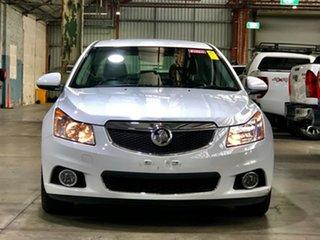 2012 Holden Cruze JH Series II MY12 CDX White 6 Speed Sports Automatic Sedan.