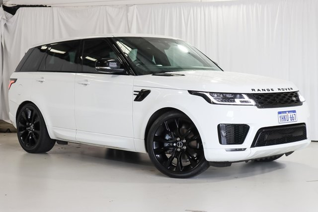 Used Land Rover Range Rover Sport L494 18MY SE Wangara, 2018 Land Rover Range Rover Sport L494 18MY SE White 8 Speed Sports Automatic Wagon