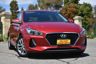 2018 Hyundai i30 PD2 MY18 Active Red 6 Speed Sports Automatic Hatchback.