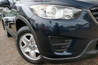 2015 Mazda CX-5 MY15 Maxx (4x2) Navy Blue 6 Speed Automatic Wagon.
