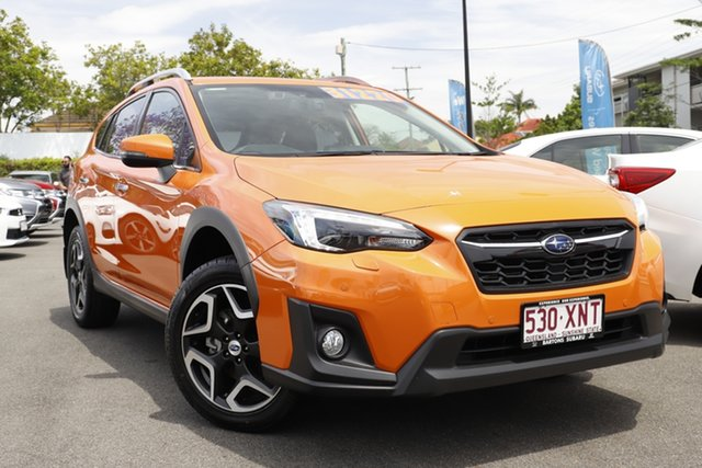 Used Subaru XV G5X MY18 2.0i-S Lineartronic AWD Mount Gravatt, 2018 Subaru XV G5X MY18 2.0i-S Lineartronic AWD Orange 7 Speed Constant Variable Wagon