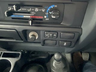 2018 Toyota Landcruiser VDJ79R GXL (4x4) Graphite 5 Speed Manual Cab Chassis