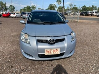 2009 Toyota Corolla Ascent Blue 4 Speed Auto Active Select Hatchback.