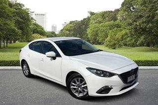 2014 Mazda 3 BM5278 Maxx SKYACTIV-Drive White 6 Speed Sports Automatic Sedan.