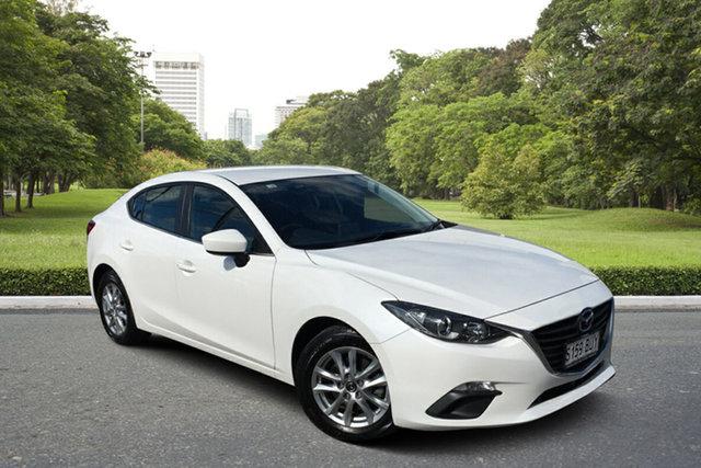 Used Mazda 3 BM5278 Maxx SKYACTIV-Drive Paradise, 2014 Mazda 3 BM5278 Maxx SKYACTIV-Drive White 6 Speed Sports Automatic Sedan