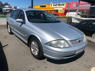 2002 Ford Falcon Silver Automatic Sedan.