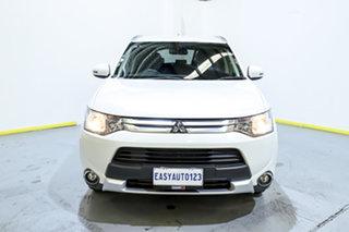 2014 Mitsubishi Outlander ZJ MY14.5 LS 4WD White 6 Speed Sports Automatic Wagon.