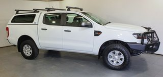 2018 Ford Ranger PX MkII 2018.00MY XLS Double Cab White 6 Speed Manual Utility