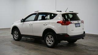 2014 Toyota RAV4 ASA44R MY14 GX AWD White 6 Speed Sports Automatic Wagon.