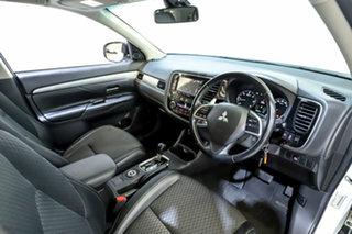 2014 Mitsubishi Outlander ZJ MY14.5 LS 4WD White 6 Speed Sports Automatic Wagon
