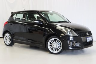 2013 Suzuki Swift FZ Sport Black 7 Speed Constant Variable Hatchback.