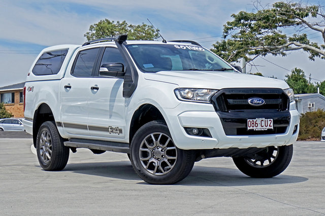 Used Ford Ranger PX MkII FX4 Double Cab Capalaba, 2017 Ford Ranger PX MkII FX4 Double Cab White 6 Speed Sports Automatic Utility