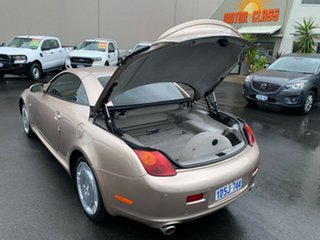 2005 Lexus SC UZZ40R MY06 SC430 Gold 6 Speed Sports Automatic Convertible