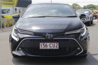 2019 Toyota Corolla Mzea12R ZR Black 10 Speed Constant Variable Hatchback.