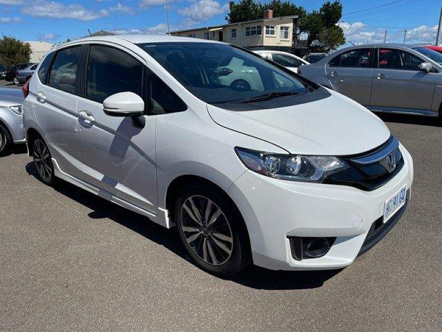 Used Honda Jazz GF MY17 VTi-L Devonport, 2017 Honda Jazz GF MY17 VTi-L White 1 Speed Constant Variable Hatchback