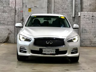 2016 Infiniti Q50 V37 GT White 7 Speed Sports Automatic Sedan.