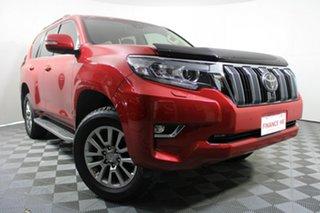 2020 Toyota Landcruiser Prado GDJ150R VX Red 6 Speed Sports Automatic Wagon.