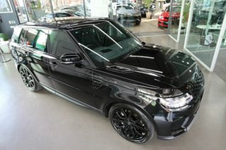 2021 Land Rover Range Rover Sport L494 21.5MY DI6 183kW SE Black 8 Speed Sports Automatic Wagon