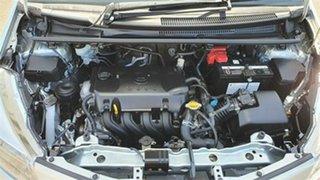 2011 Toyota Yaris NCP90R MY11 YR Silver 5 Speed Manual Hatchback