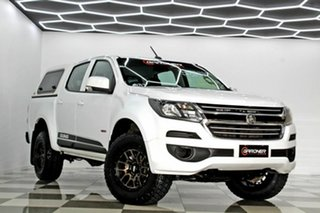 2018 Holden Colorado RG MY18 LS (4x2) White 6 Speed Automatic Crew Cab Pickup.