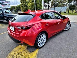 2013 Mazda 3 BM5438 SP25 SKYACTIV-Drive Red 6 Speed Sports Automatic Hatchback.