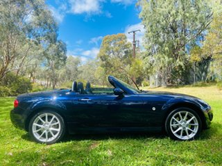 2010 Mazda MX-5 NC30F2 MY09 Roadster Coupe Stormy Blue 6 Speed Sports Automatic Hardtop