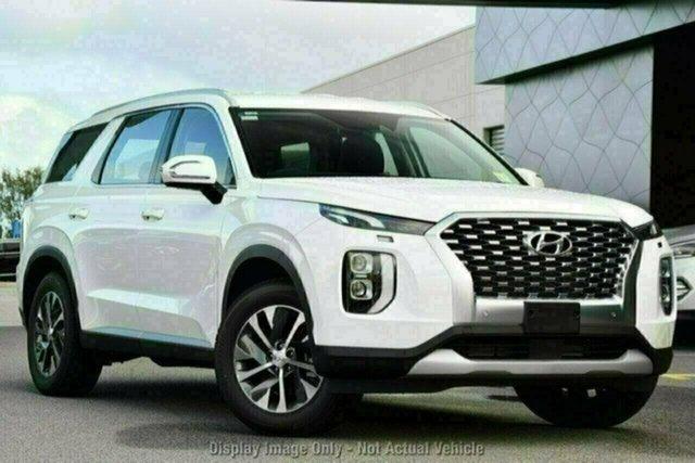 New Hyundai Palisade LX2.V1 MY21 2WD Castle Hill, 2021 Hyundai Palisade LX2.V1 MY21 2WD Rain Forest 8 Speed Sports Automatic Wagon