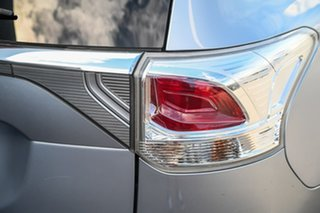 2012 Mitsubishi Outlander ZJ MY13 LS 4WD Silver 6 Speed Sports Automatic Wagon