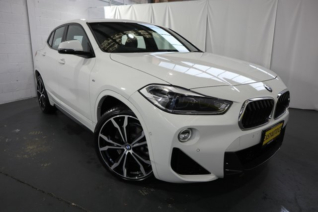 Used BMW X2 F39 sDrive20i Coupe DCT Steptronic M Sport Castle Hill, 2017 BMW X2 F39 sDrive20i Coupe DCT Steptronic M Sport White 7 Speed Sports Automatic Dual Clutch