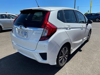 2017 Honda Jazz GF MY17 VTi-L White 1 Speed Constant Variable Hatchback.
