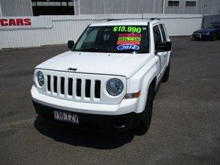 2013 Jeep Patriot BLACK HAWK White 4 Speed Automatic Wagon.