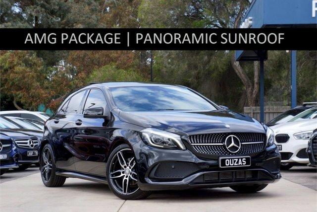Used Mercedes-Benz A-Class W176 808MY A180 D-CT Balwyn, 2017 Mercedes-Benz A-Class W176 808MY A180 D-CT 7 Speed Sports Automatic Dual Clutch Hatchback