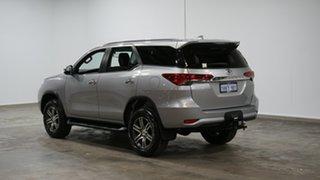 2018 Toyota Fortuner GUN156R GXL Silver 6 Speed Automatic Wagon.
