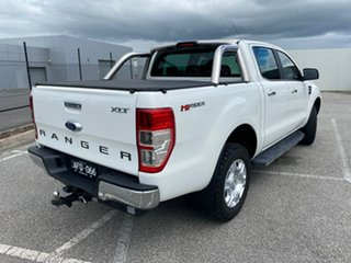 2015 Ford Ranger PX MkII XLT Super Cab 4x2 Hi-Rider White 6 Speed Sports Automatic Utility.