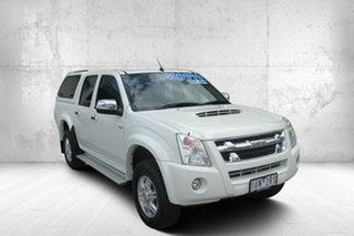 2012 Isuzu D-MAX LS High Ride White 4 Speed Automatic Utility.