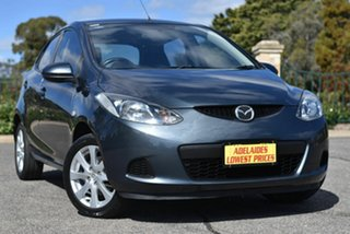 2008 Mazda 2 DE10Y1 Maxx Grey 5 Speed Manual Hatchback.