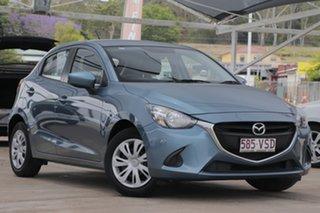 2015 Mazda 2 DJ2HA6 Neo SKYACTIV-MT Gunmetal Blue 6 Speed Manual Hatchback.
