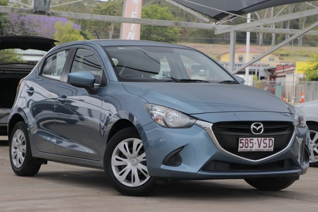 Used Mazda 2 DJ2HA6 Neo SKYACTIV-MT Bundamba, 2015 Mazda 2 DJ2HA6 Neo SKYACTIV-MT Gunmetal Blue 6 Speed Manual Hatchback