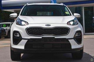 2021 Kia Sportage QL MY21 SX 2WD White 6 Speed Sports Automatic Wagon.