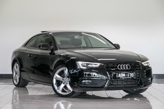 2013 Audi A5 8T MY13 S Tronic Quattro Black 7 Speed Sports Automatic Dual Clutch Coupe.