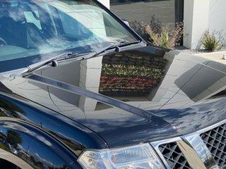 2011 Nissan Navara D40 MY11 ST-X 550 Black 7 Speed Sports Automatic Utility