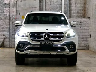 2019 Mercedes-Benz X-Class 470 X350d 7G-Tronic + 4MATIC Power White 7 Speed Sports Automatic Utility.