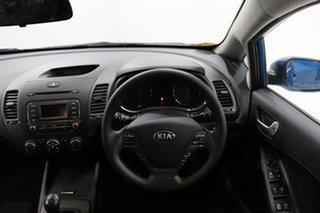 2014 Kia Cerato YD MY14 S Blue 6 Speed Manual Hatchback