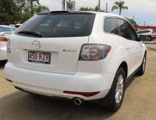 2011 Mazda CX-7 ER MY10 Classic (FWD) White 5 Speed Auto Activematic Wagon.